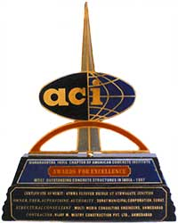Maharastra India Chapter of American Concrete Institute Award - Year 1997