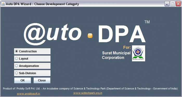 Auto DPA - Building Plan Approval System Screenshot