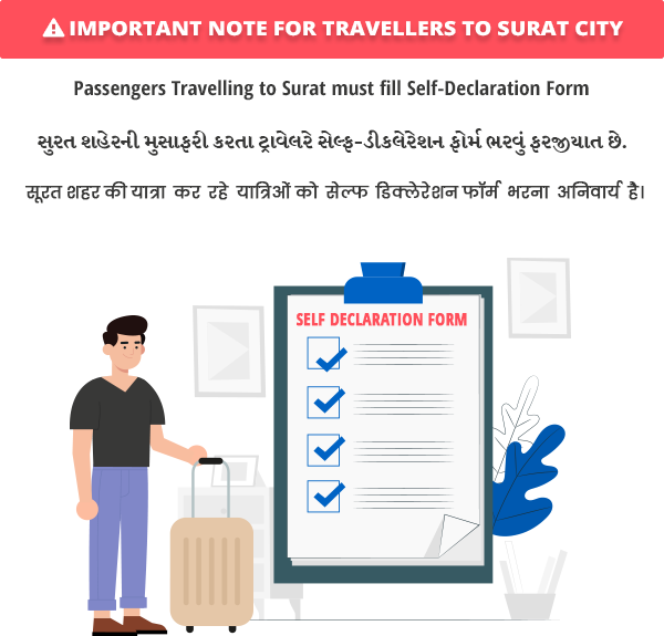SMC - Important note on Self Declaration Form for Travellers