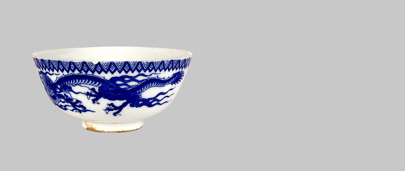 Object of the Month - CHINESE DRAGON SOUP BOWL