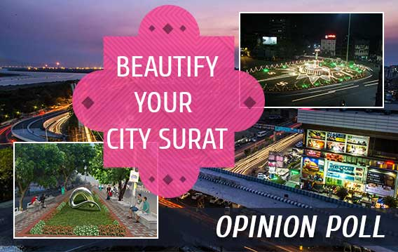 Beautify your city Surat - Public Opinion Poll