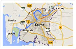About Surat City - Diamond City of India