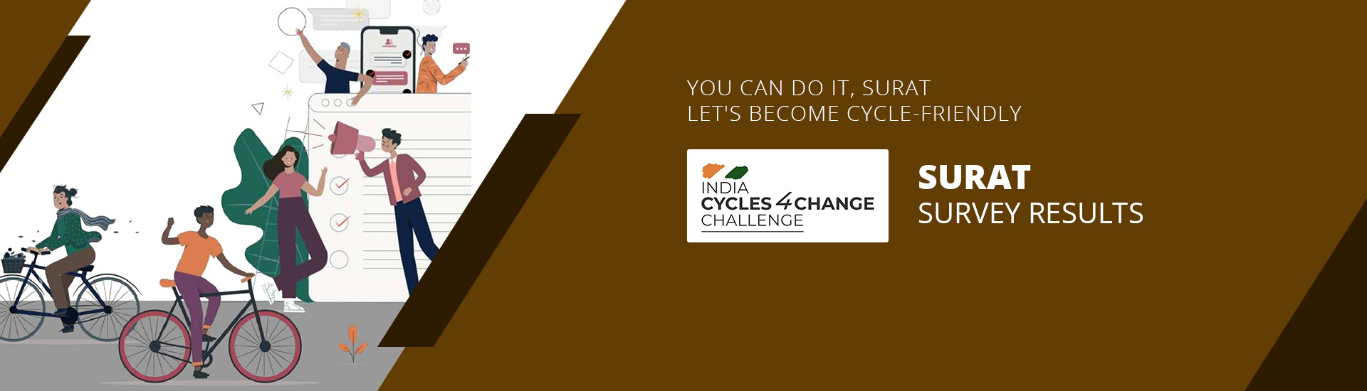 India Cycle4Change Survey - Surat Results