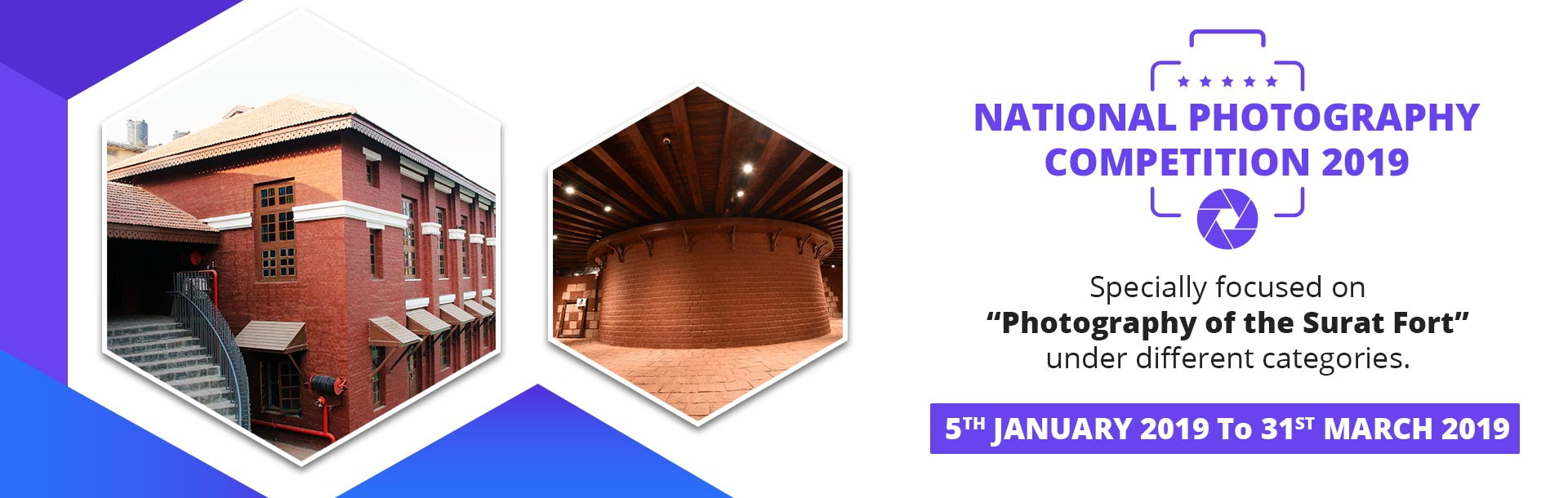 National Photography Competition 2019  on Photography of the Surat Fort